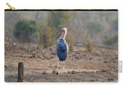 Marabou Stork Of Botswana Africa Carry-all Pouch