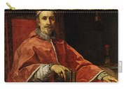 Maratti Carlo Portrait Of Pope Clement Ix Carry-all Pouch