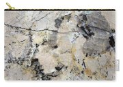 Marble Tan Black Carry-all Pouch