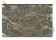 Marble Bark Colored Abstract Carry-all Pouch
