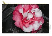 Marble Camellia Carry-all Pouch