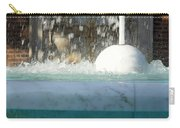 Marble Fountain Shower Carry-all Pouch