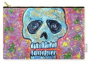 Marble Skull  Carry-all Pouch