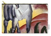 Marc: Grey Horse, 1911 Carry-all Pouch