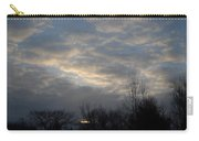 March Clouds In Dawn Sky Carry-all Pouch