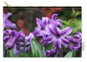 March Hyacinths Carry-all Pouch