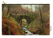 March Morning Carry-all Pouch by John Atkinson Grimshaw
