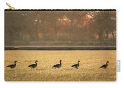 March Of The Geese Carry-all Pouch
