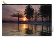 March Sunrise At Detroit Point Carry-all Pouch