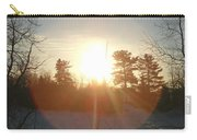 March Sunrise Circle Carry-all Pouch