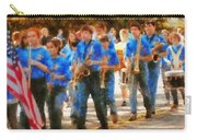 Marching Band - Junior Marching Band  Carry-all Pouch by Mike Savad