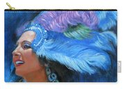 Mardi Gras Girl Carry-all Pouch