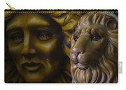 Mardi Gras Lion Carry-all Pouch