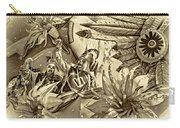 Mardi Gras - New Orleans 3 - Sepia Carry-all Pouch