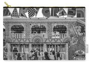 Mardi Gras North - Bw Carry-all Pouch