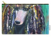 Mardi Gras Poodle Carry-all Pouch