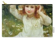 Marguerites Carry-all Pouch by Frederick Morgan