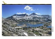 Marie Lake Panorama From High Above - John Muir Trail Carry-all Pouch