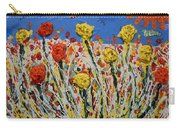 Marigold Flower Garden Carry-all Pouch