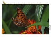 Marigold Grows Wings Carry-all Pouch