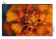 Marigold On Blue Carry-all Pouch