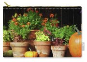 Marigolds And Pumpkins Carry-all Pouch