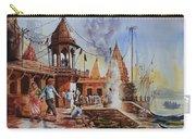 Marikarnika Ghat Varanasi Carry-all Pouch