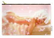 Marilyn M. In Bed Carry-all Pouch