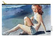 Marilyn Mermaid Fragmented Carry-all Pouch