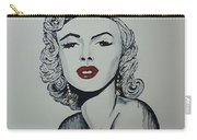 Marilyn Monroe Dripping Carry-all Pouch