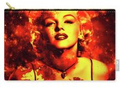 Marilyn Monroe   Golden  Carry-all Pouch