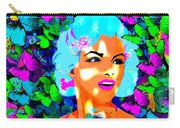 Marilyn Monroe Light And Butterflies Carry-all Pouch