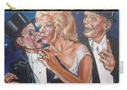Marilyn Monroe Marries Charlie Mccarthy Carry-all Pouch