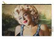 Marilyn Monroe  Mona Lisa  Carry-all Pouch