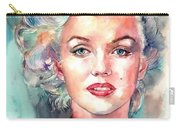 Marilyn Monroe Portrait Carry-all Pouch