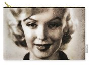 Marilyn Monroe, Vintage Actress Carry-all Pouch