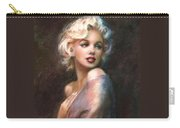 Marilyn Romantic Ww 1 Carry-all Pouch by Theo Danella