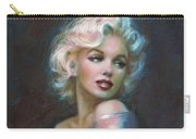 Marilyn Romantic Ww Dark Blue Carry-all Pouch