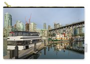Marina At Granville Island In Vancouver Bc Carry-all Pouch
