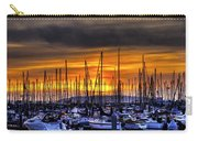 Marina At Sunset Carry-all Pouch