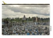 Marina In Olympia Washington Waterfront Moorage Carry-all Pouch