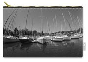 Marina On Lake Murray S C Black And White Carry-all Pouch