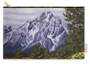 Marina's Edge, Jenny Lake, Grand Tetons Carry-all Pouch by Erin Fickert-Rowland