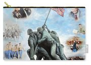 Marine Corps Art Academy Commemoration Oil Painting By Todd Krasovetz Carry-all Pouch