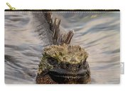 Marine Iguana Swimming Carry-all Pouch
