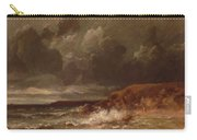 Marine Landscape The Cape And Dunes Of Saint Quentin 1870 Carry-all Pouch