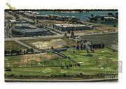 Mariners Point Golf Center In Foster City, California Aerial Photo Carry-all Pouch