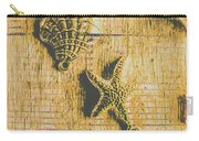 Maritime Sea Scroll Carry-all Pouch