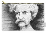 Mark Twain In His Own Words Carry-all Pouch