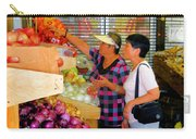 Market At Bensonhurst Brooklyn Ny 2 Carry-all Pouch